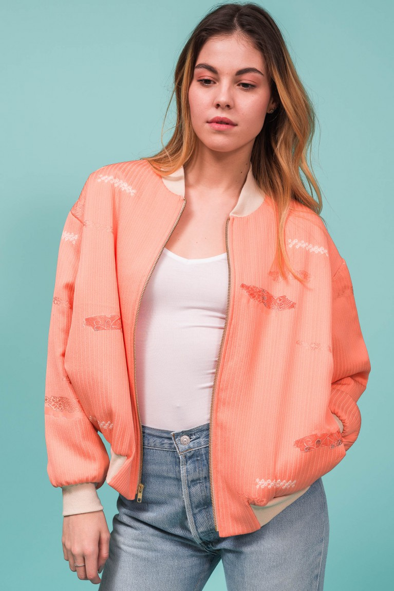 Chiara Bomber Jacket One of a Kind