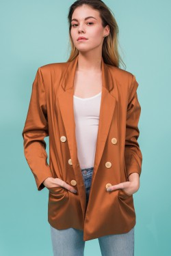 Double-breasted blazer