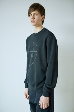 Sweatshirt golden ratio outline
