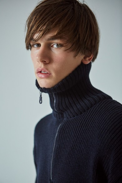Merino wool turtleneck