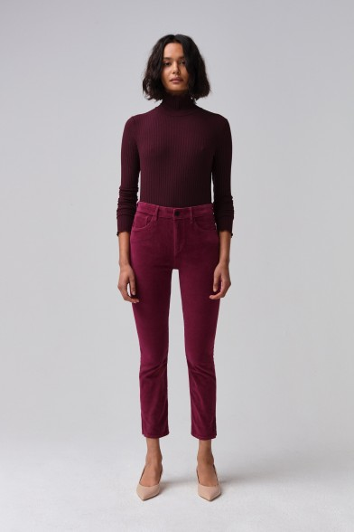 W3 VELVET HIGHER GROUND MINI SPLIT  MERLOT