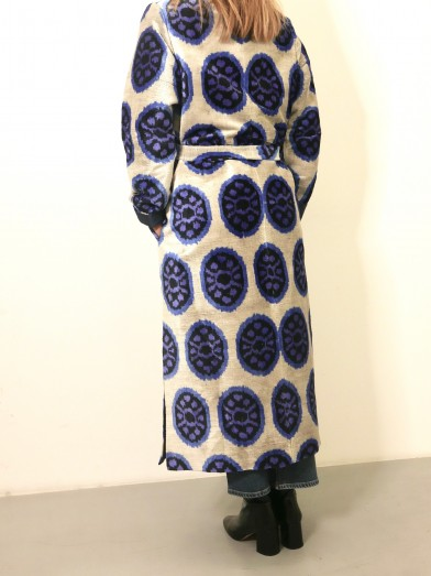Long ikat coat