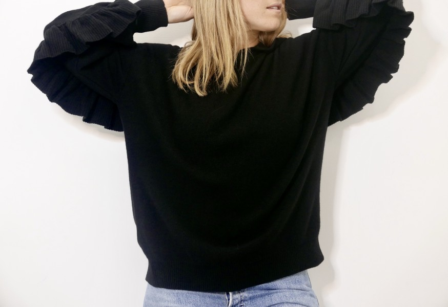 Laura Black Sweater