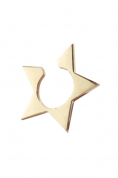 Solid Star Ear Cuff
