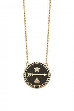 Dream medallion necklace