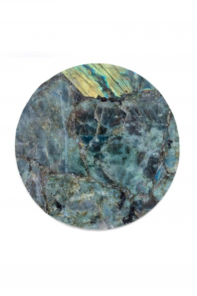 Labradorite circle tray