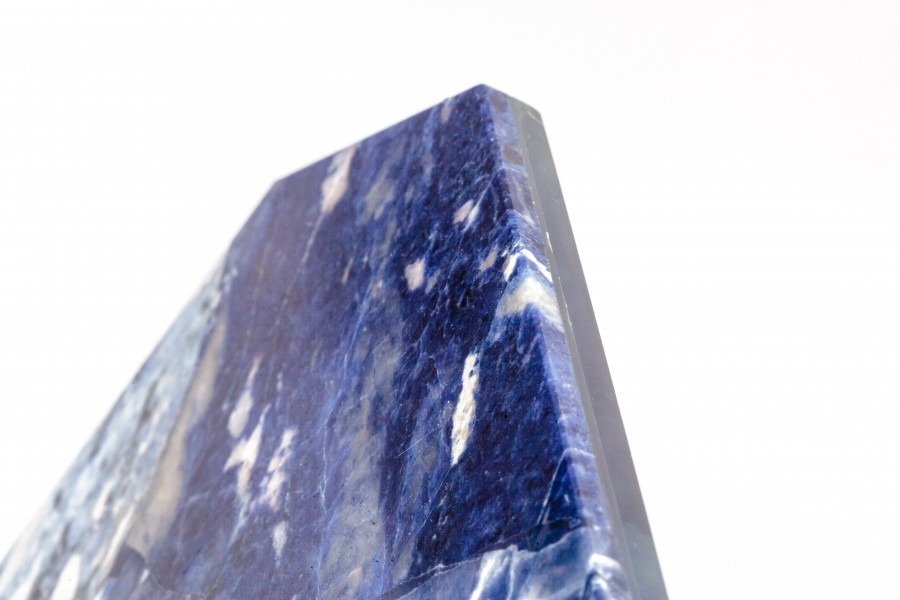 Sodalite rectangle tray